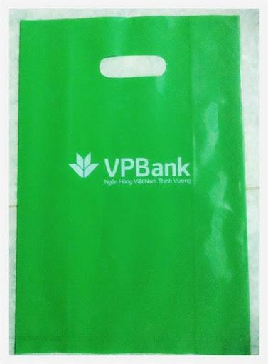 in túi xốp ngân hàng